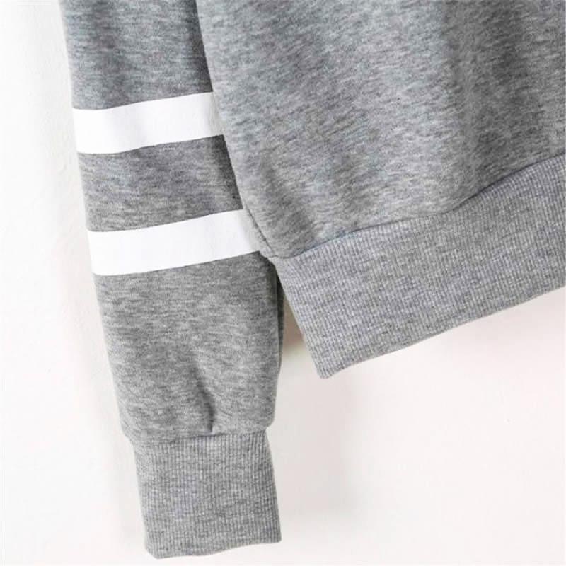 HTB1FiFpKxGYBuNjy0Fnq6x5lpXaJ - 2018 Autumn Women Hoodie Casual Long Sleeve Hooded Pullover Sweatshirts Hooded Female Jumper Women Tracksuits Sportswear