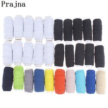 Prajna 10Roll Elastic Thread Set Industrial Sewing Machine Thread Cheap White Elastic Thread For Bracelets Beading DIY Accessory(China)