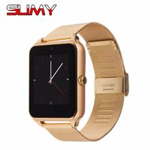 Slimy Z60 Smart Watch Clocks Hours with Bluetooth Camera Music Player Smartwatch for Android Samsung HTC Sony LG Huawei Phones(China)