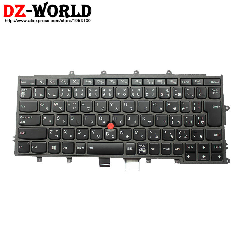 New Original for Lenovo Thinkpad X230S X240 X240S X250 X260 Backlit Keyboard Japanese Backlight Teclado 04X0208 04Y0931 0C44013 neworig keyboard bezel palmrest cover lenovo thinkpad t540p w54 touchpad without fingerprint 04x5544