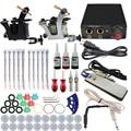 ITATOO Pens Tattoo Kit Cheap Tattoo Machine Set Kit Tattooing Ink Machine Gun Supplies For Jewelry Weapon Professional TK108005