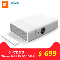 Inovel ME2 4K Porjector 3D DLP Smart Home Theater 300 inch Hi Fi Bluetooth Speaker Projector Android 6.0 1080P Proyector Beamer