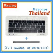 Original A1706/A1707/A1708 Thailand Keycaps For Macbook Pro/Air Retina 13″ 15″ A1932/A1990/A1989 Thai Keys Replacement Keyboard