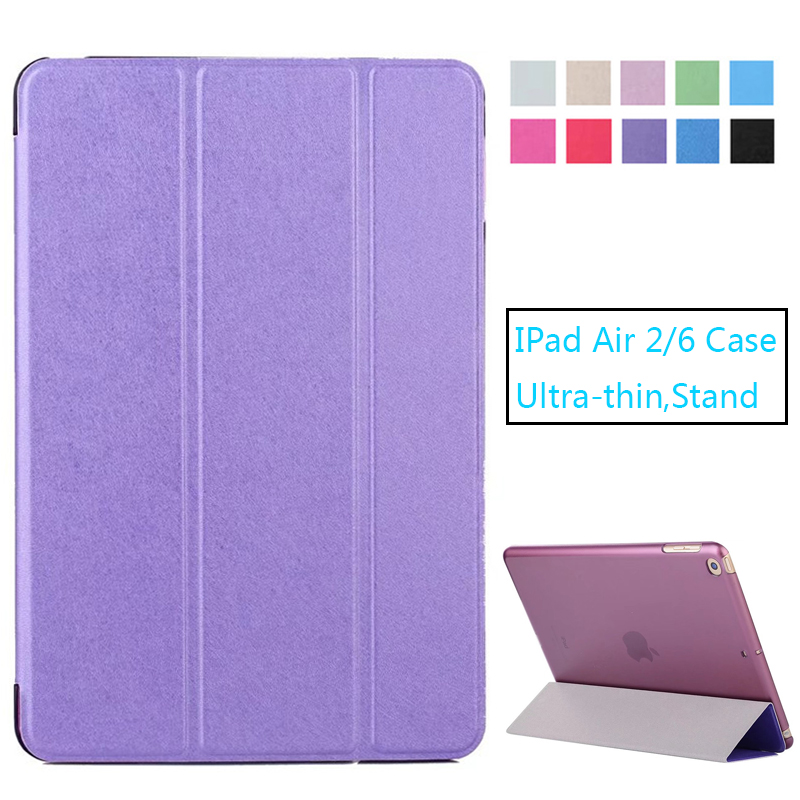 Aggressive For Apple Ipad Air 2 9.7 Inch Case Ultra-thin Stand Pu Leather Cover For Ipad Air2/6 Cover Auto Wake Up Shell Bracing Up The Whole System And Strengthening It Computer & Office Tablet Accessories