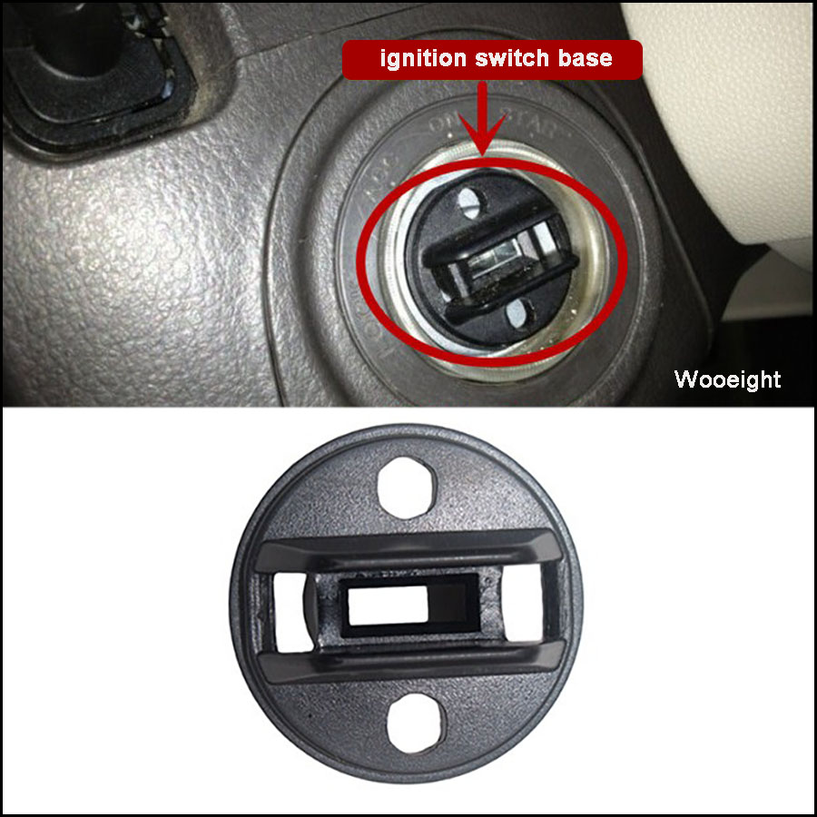Wooeight chave de ignição push turn knob interruptor base para mazda velocidade 6 2006 para mazda CX-7 2007-2012 CX-9 2007-2014 D6Y1-76-142