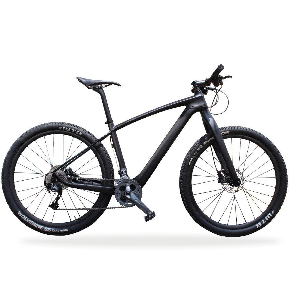 MIRACLE 29er XC Carbone Vtt Vélo XT/SLX/ALIVIO 22 vitesses de Vélo De Montagne En Carbone Toray ud Carbone complet vélo 29 pouces