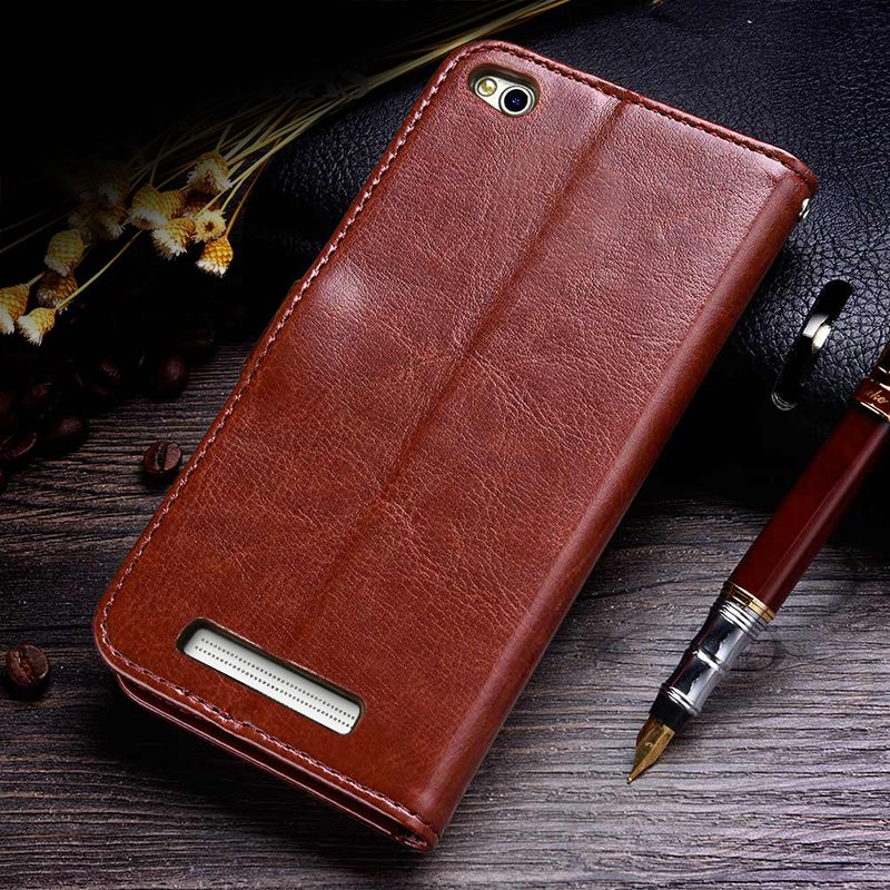 Business Case For Xiaomi Redmi 4A Cases Cover Flip Wallet Conque Case 5.0 Inch For Xiaomi Redmi 4A Cases Leather TOMKAS  (7)