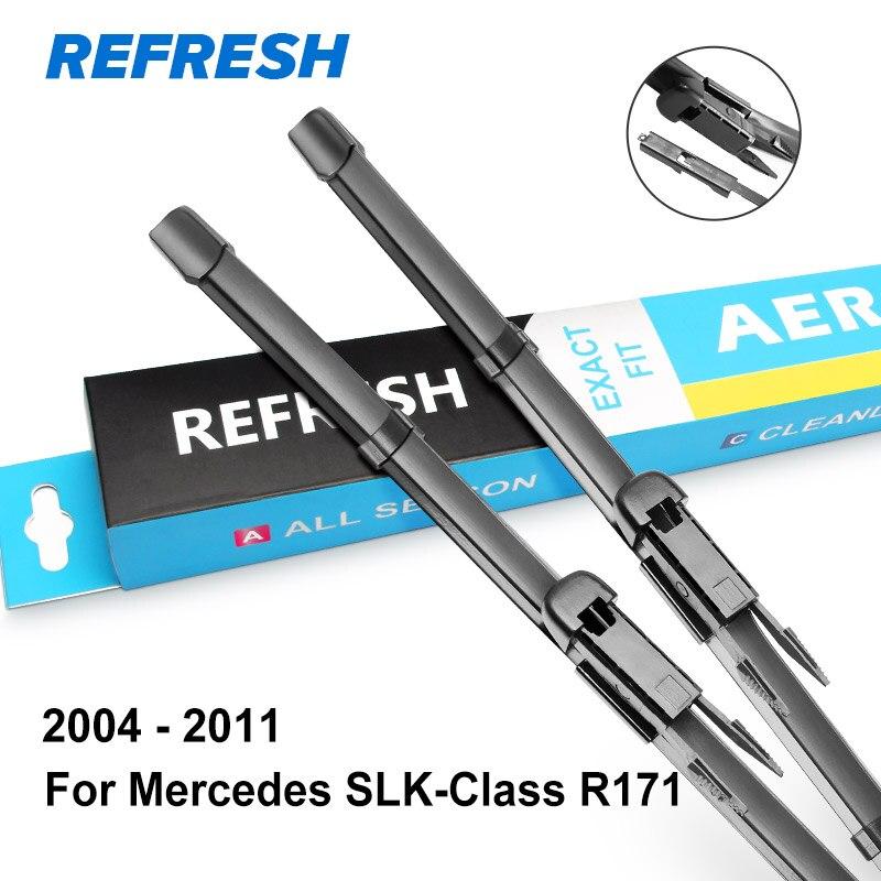 REFRESH Щетки стеклоочистителя для Mercedes Benz SLK Класс R170 R171 R172 с 1996 по год SLK 200 250 300 350 55 AMG CDI - Цвет: 2004 - 2011 ( R171 )