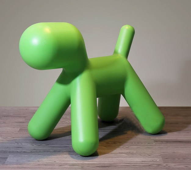 Modern Design fashion Baby Plastic Dog Chair Kids lovely Dog toy Chair Baby Puppy Chair Children Plastic Toy Play Chair Big Size