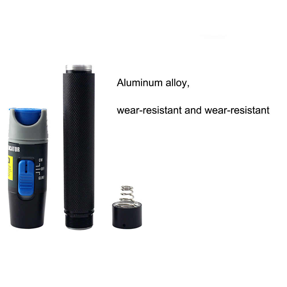 1.5V Visual Fault Locator LC/SC/ST/FC Connector Cable Laser Optical Fiber Tester 5KM Detector FC Male to LC Female Adapter High