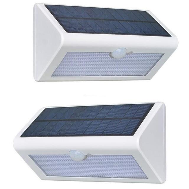 solar verlichting met sensor 38 led veranda verlichting met zonnepaneel human body inductie 3 modes wit