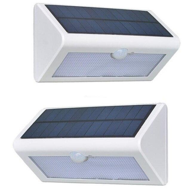 Solar beleuchtung Mit Sensor 38 GEFÜHRT Veranda Lichter Mit Solar ...