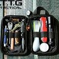Cordura 1000D Nylon Military Wallet Bag MOLLE Alice Military Pocket Accessory Bag 4x6 Military Pocket Organizer Black