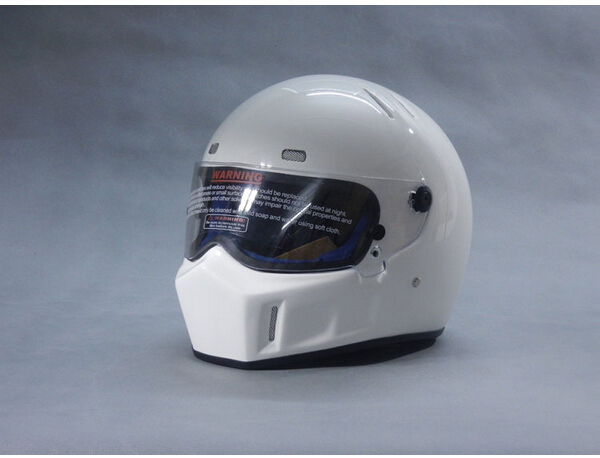 2016 New Motorcycle full face glass fiber reinforced plastic helmet ATV-1 Stig SIMPSON Star Wars pig capacete DOT white