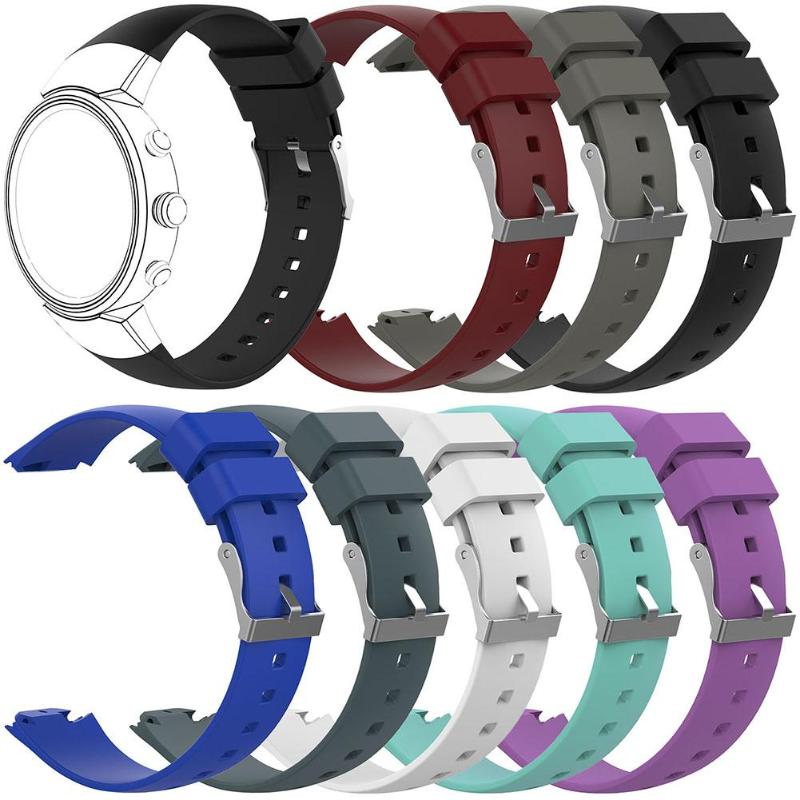 Silicone Watch Strap Replacement Sport Watch Band Strap For ASUS Zenwatch 3 Replace High Quality Colorful Watch Band 8 Colors