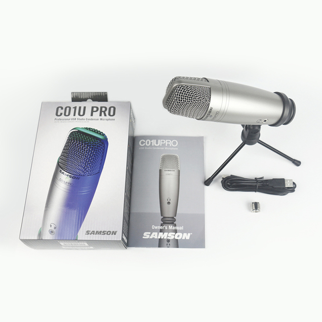 Studio Condenser Microphone Real-time Monitoring Large Diaphragm Condenser for Broadcasting Music Recording