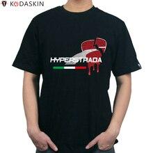 KODASKIN tshirt Men Fashion Tops Tees T-shirt Tshirt Tee Shirts for DUCATI Hypermotard 820 939