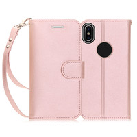 2017 Tide Phone Case For Iphone X Flip Cover Wallet Case Gold Rose Gold Cute Advanced