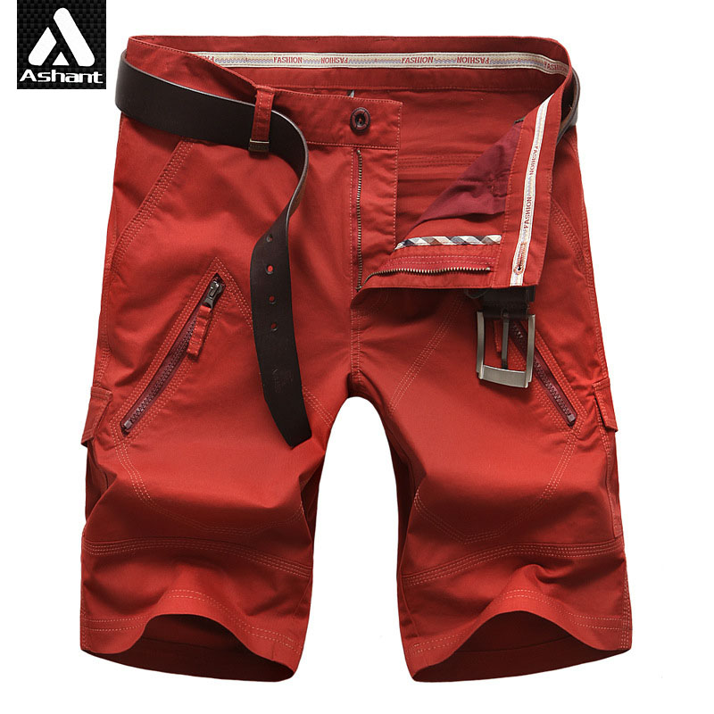 Popular Red Cargo Shorts Men-Buy Cheap Red Cargo Shorts Men lots ...
