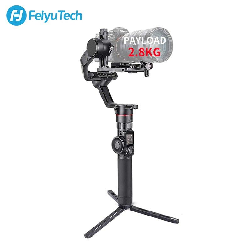 FeiyuTech AK2000 3-Assi Della Macchina Fotografica Stabilizzatore Gimbal DSLR Treppiede con Anello di Messa A Fuoco per Sony Canon 5D Panasonic GH5 Nikon 5D 2.8 KG