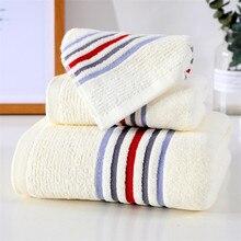 114cfb5d6c 100% Cotone di Lusso 3 pz/lotto Set di Asciugamani Fazzoletto + Viso Panno