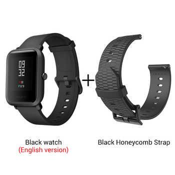 amazfit smart watch add honeycomb strap
