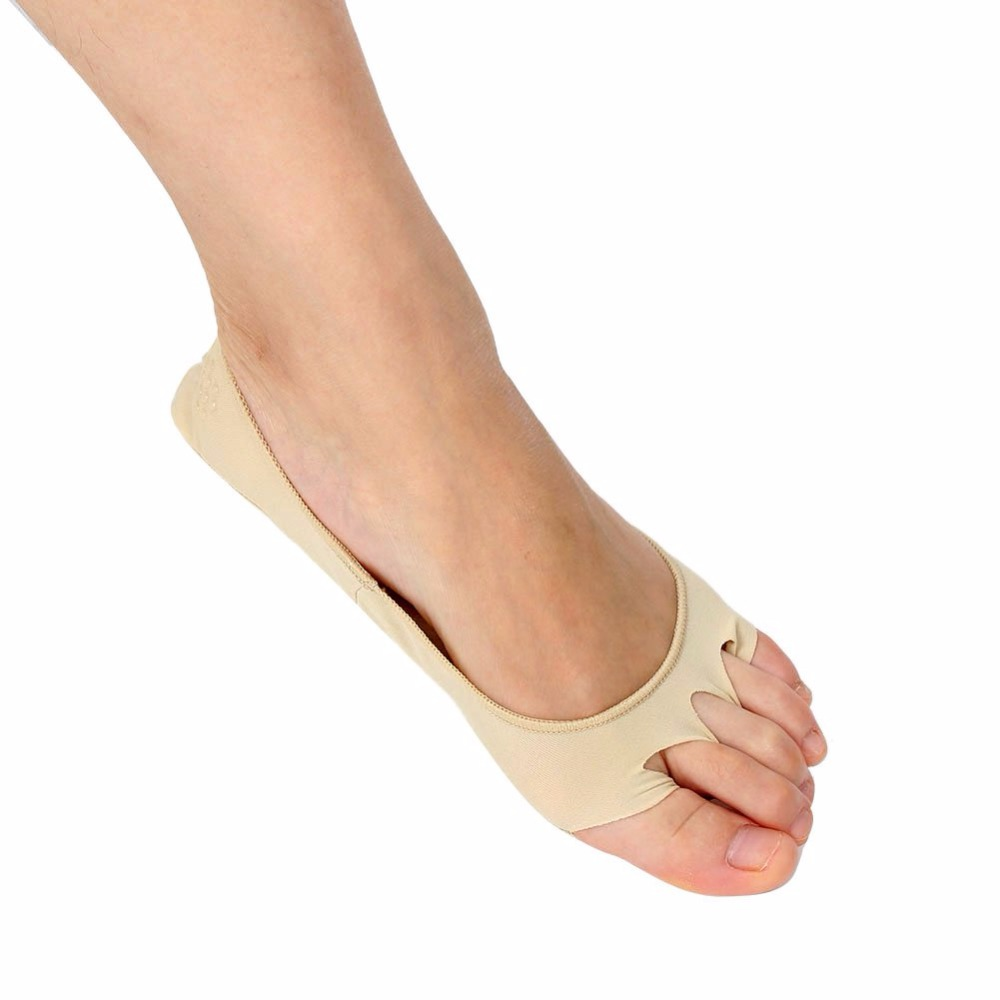 Solid Foot Care Toe Socks Health Foot Care Massage Five Fingers Toes Compression Socks Arch Support Relieve Foot Pain Socks