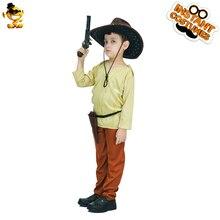 0c27f72c07117 DSPLAY niños Venta caliente niños economía Indiana Jones traje chico  Original estilo traje de fiesta de Halloween Cosplay