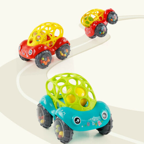 Image 3 - 2019 Brand 1 Piece Rattle and Roll Car, Assorted Colors O Ball Play Toy Kids Game Toddler Gift-in Diecasts & Toy Vehicles from Toys & Hobbies