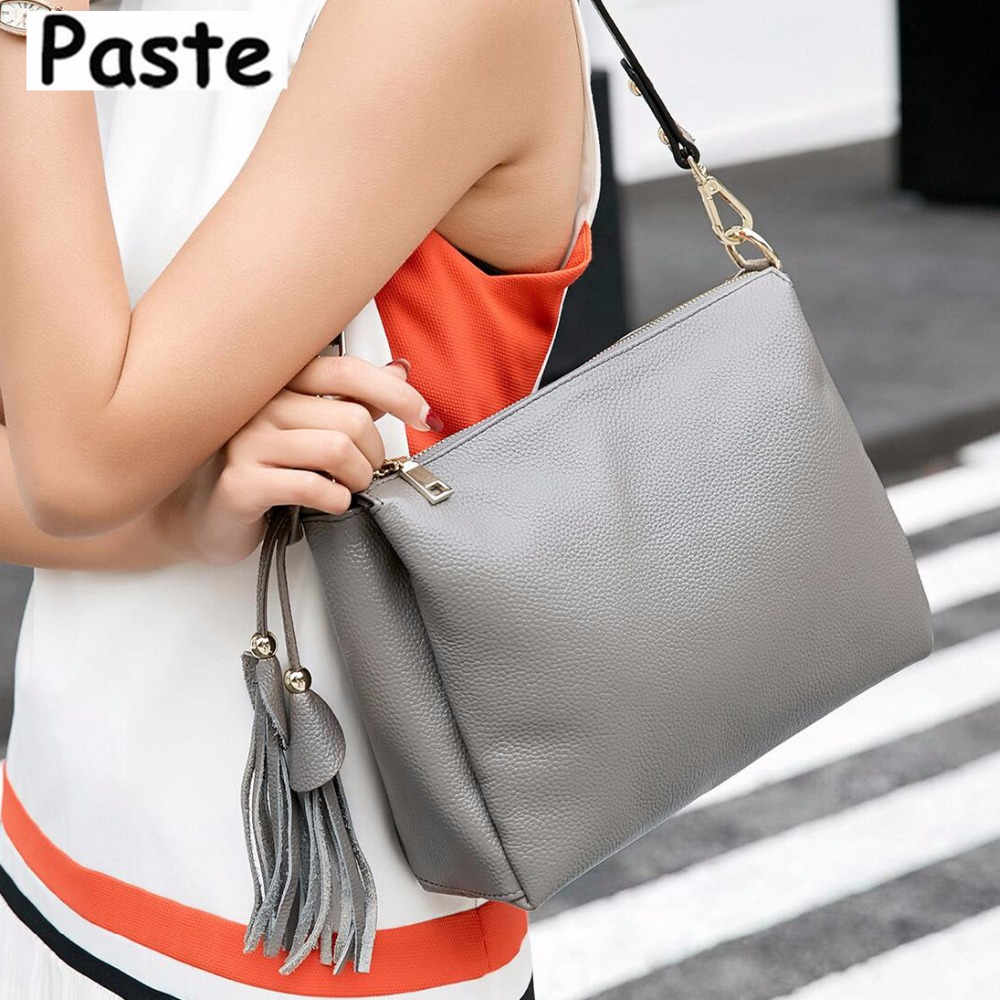 Brand New Genuine Leather Women's bag Handbag Summer Leisure Cowhide Women Messenger Shoulder bags Casual Tote Free Shipping elegant serpentine pattern handbag shengdilu brand 2018 new women genuine leather tote shoulder messenger bag free shipping