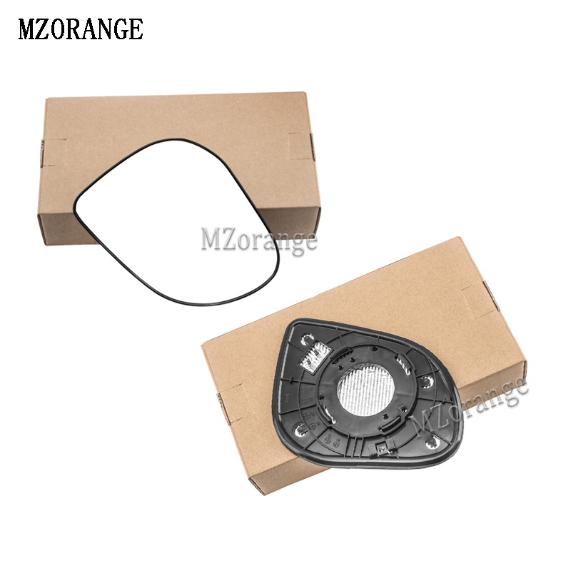 MZORANGE Heated Car Rear View Mirrors Side Mirror For Hyundai Verna 2007-2018  Rearview Glass Outside Mirror Left/Right