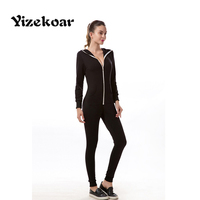 Yizekoar 2017 New Arrival Hot Sales Spring Sexy Brief Style Solid Casual Cotton Tight Zipper Long