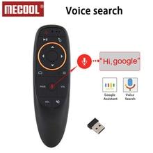Mecool G10 Air Мышь голос дистанционного Управление с 2,4G USB приемник гиродатчик мини Беспроводной Smart Remote для Android ТВ BOX PC