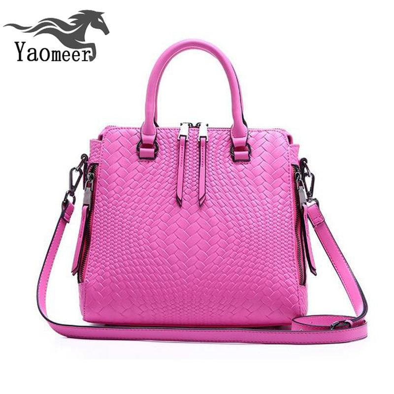 ФОТО ladies 100% genuine leather tote bag female 2017 luxury handbags women bags italian designer brand famous shoulder messenger bag