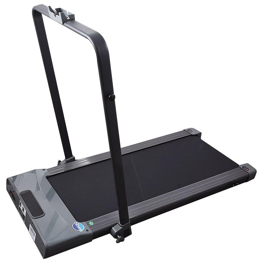 Tapis roulant électrique pliable avec Mini main courante entraînement électrique Fitness tapis roulant Intelligent détection du corps Fitness à domicile - 5