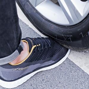 Image 2 - Botas de marca zapatos de trabajo para hombre, zapatos de seguridad informales, zapatos de punta de acero de malla ligera, Industrial, antideslizante y transpirable