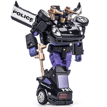 Lensple New Age NA H5B H-5B Alonzo Roadblock Barricade Transformation Action Figure