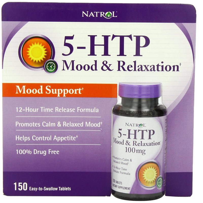 ФОТО Natrol 5-HTP Mood Enhancer Tablets, 150-Count Helps control appetite free shipping