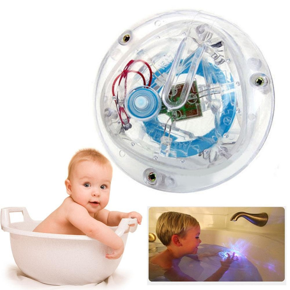 Bathroom LED Light Toy Kid ColorChanging Toys Waterproof In Tub Bath ...