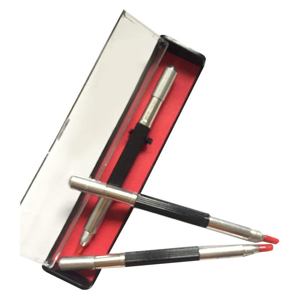 1 Pcs Glass Cutter Pen Carbide Scriber Carbide Tipped Scriber Engraving Pen Scriber Pen Lettering Carbide Pen With Plastic Case