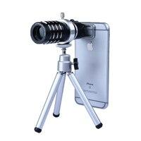 2017 Phone Lenses Camera Lentes Telescope 12x Zoom Telephoto Lens For Xiaomi Redmi 2 3 S
