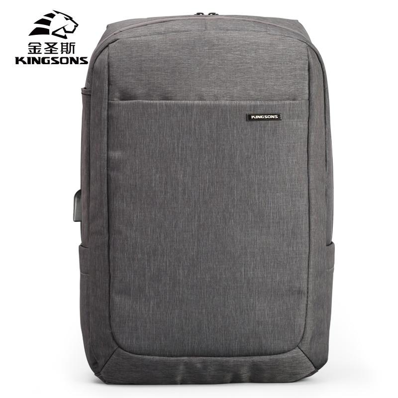 Anti-theft Men Women Backpack External USB Laptop Rucksack Travel School Bag Hot