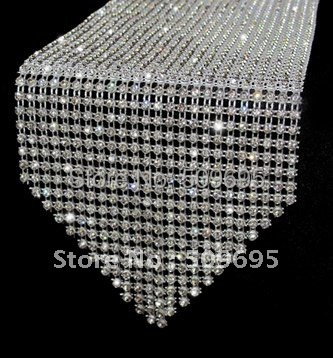 108 Wedding Decoration Crystal Table Runner Sparkle Home Decor Rhinestone Table Runner