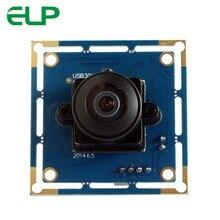 ELP низкая стоимость 170 градусов рыбий глаз широкоугольный 640*480 камера VGA PCB для 3D принтера