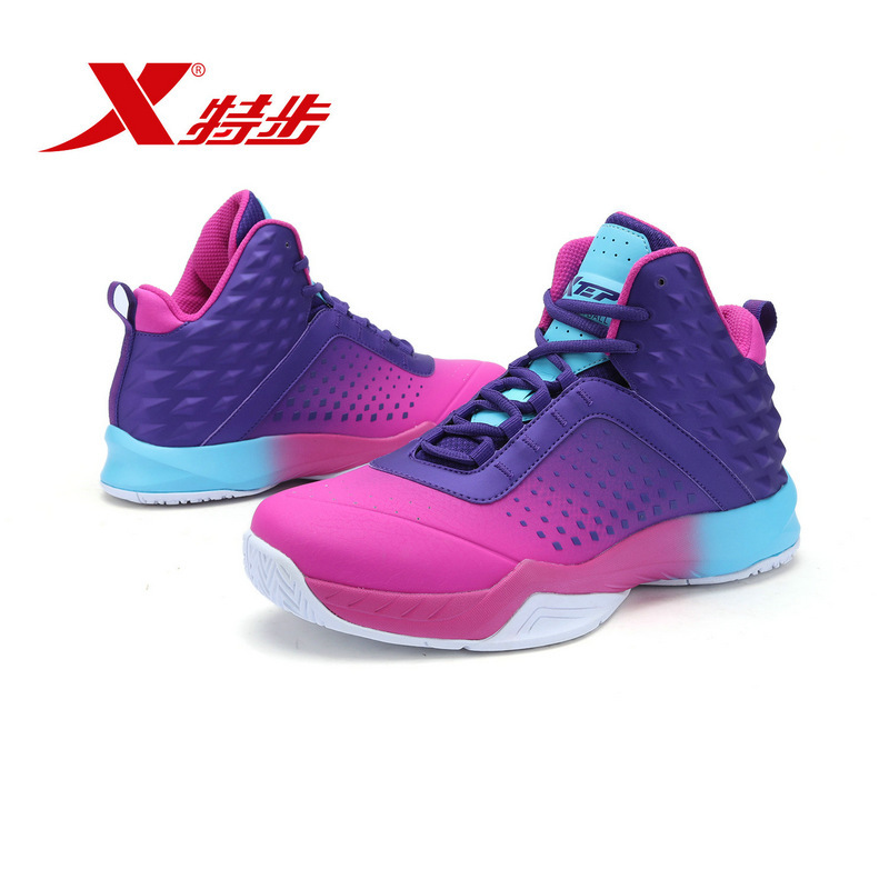 Male Basketball Shoe 2017 And Product High Help Package Shock Absorption Wear-resisting Trend Collide Colour System Bring Shoe li ning original men basketball shoe multicolor shock absorption low cut men lining basketball shoe abpk061
