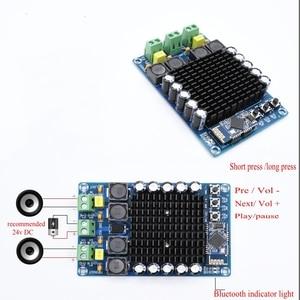 Image 2 - TDA7498 Bluetooth אודיו דיגיטלי מגבר כוח לוח 100W + 100W CSR8635 4.1 גבוהה כוח סטריאו מגבר