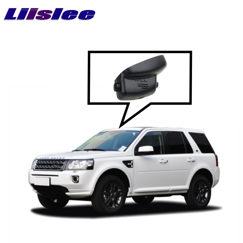 LiisLee Car Black Box WiFi DVR Dash Camera Driving Video Recorder For Land For Rover LR Freelander 2 L359 2006~2014 car rear trunk security shield cargo cover for land rover freelander 2 lr2 2006 2017 high qualit black auto accessories