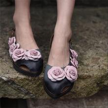 2016 new authentic design ladies's sneakers classic flower again strap ladies sandals informal low heels aesthetic open toe sneakers 232-1