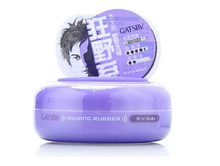 Hotsale Hair Care Products Gatsby Moving Rubber Spiky Edge Hair Wax 80g/2.7oz creative hair styling Free shipping