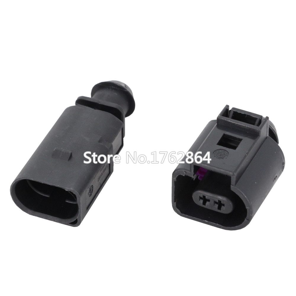 2 Pin DJ7022A 1 5 11 21 Female Male 1 5mm Auto Temp Sensor Plug Deflation Valve Plug Waterproof Connector 2P in Connectors from Lights Lighting